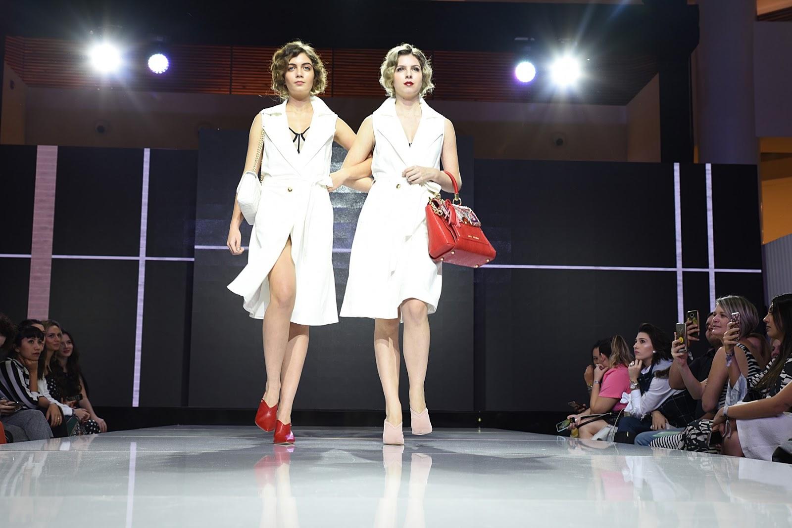 3fa4c07d5 ... saltos médios e bolsas em todos os tamanhos prometem ser sensação da  marca. As principais tendências da coleção primavera-verão foram destaque  no evento ...