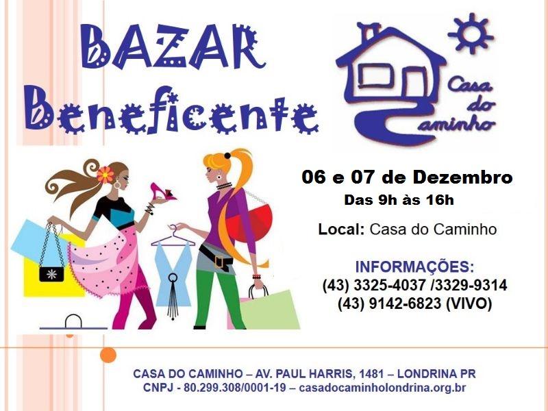 Bazar Beneficente da Casa do Caminho