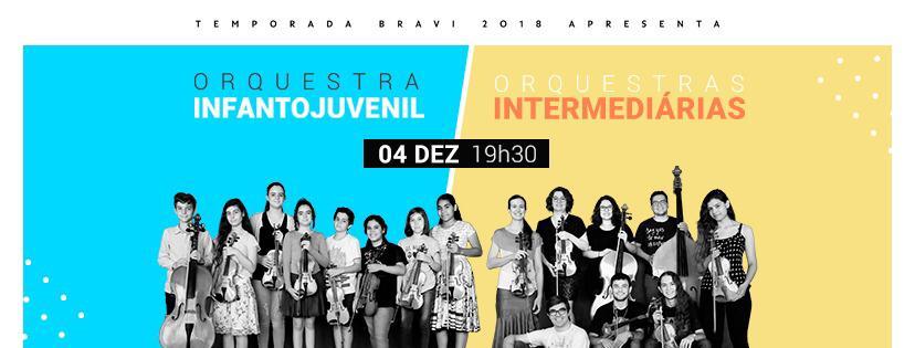 Temporada Bravi 2018 - Orquestras Juvenil e Intermediária