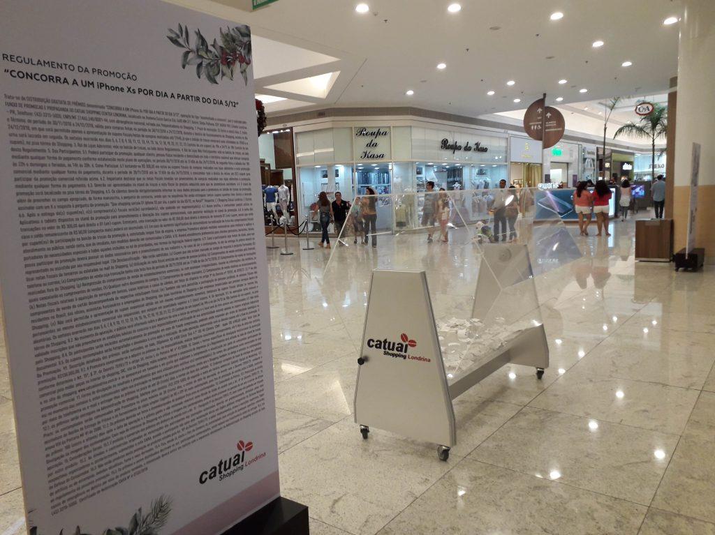 Catuaí Shopping sorteará 20 iPhones, um por dia, até o Natal