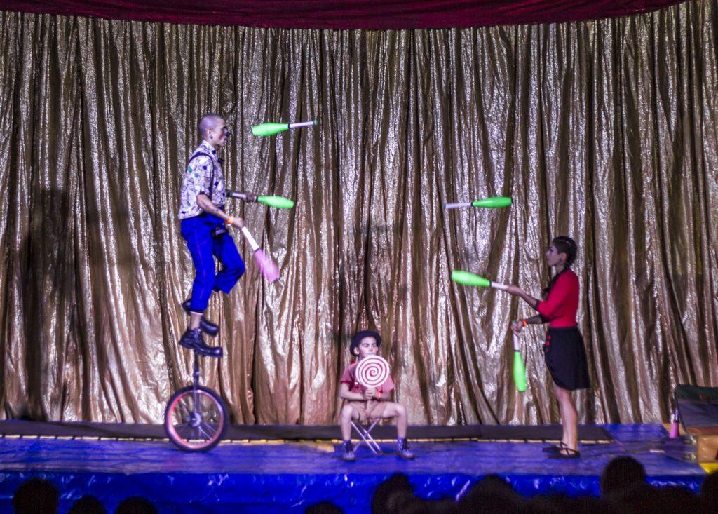 Programação desta sexta no Festival de Circo de Londrina