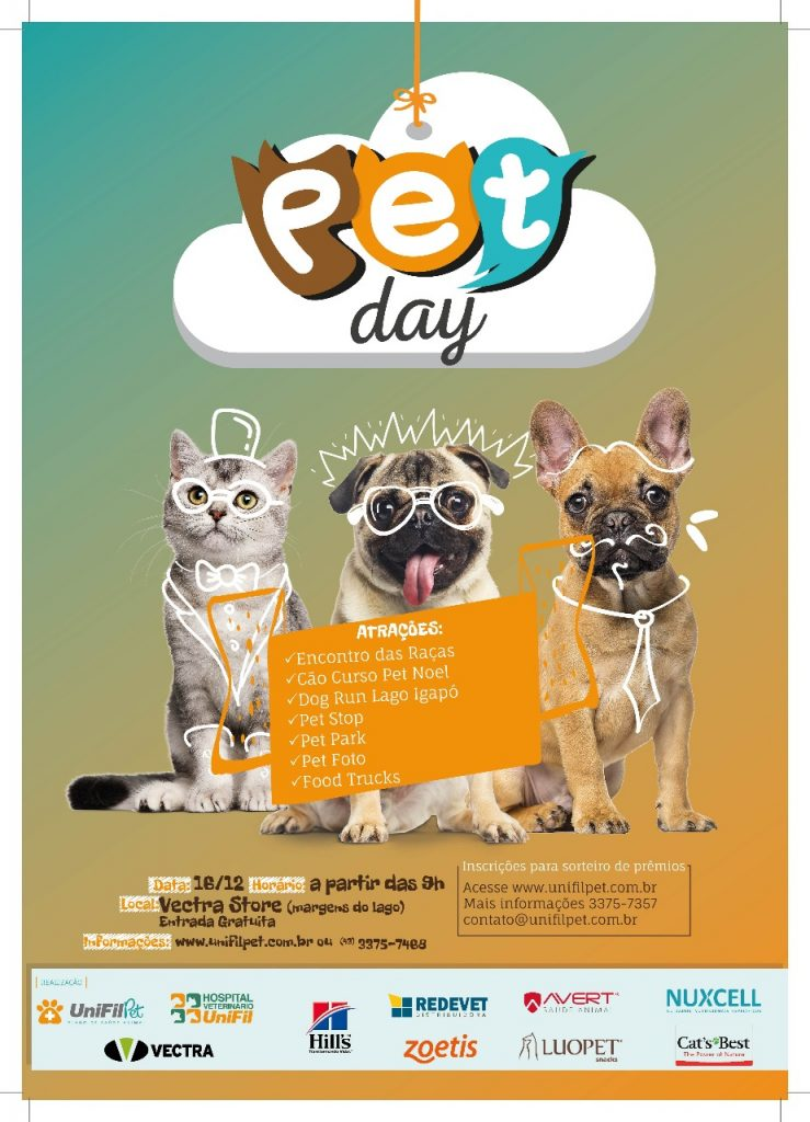 Pet Day com encontrão de raças, cão curso, dog run e mais atrações