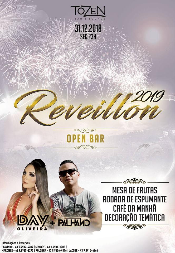 Lugares para curtir o Revellion 2019 em Londrina