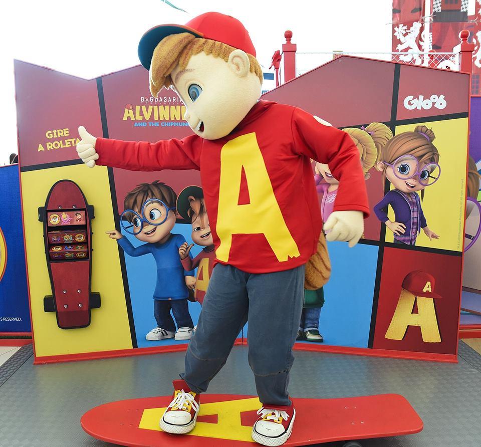 Acontece hoje o último encontro do Alvin com as crianças no Boulevard