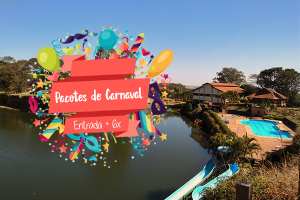 Pacotes especiais de Carnaval no Hotel Lago das Pedras