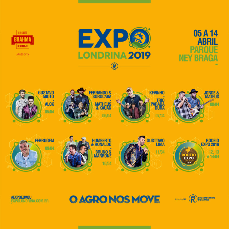Boulevard Londrina Shopping começa a vender ingressos da Expo Londrina nesta sexta-feira (01)