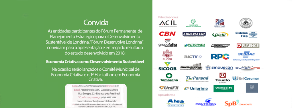 Seminário Economia Criativa em Londrina