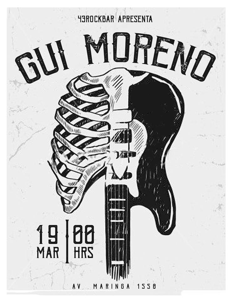 43 Rockbar apresenta Gui Moreno