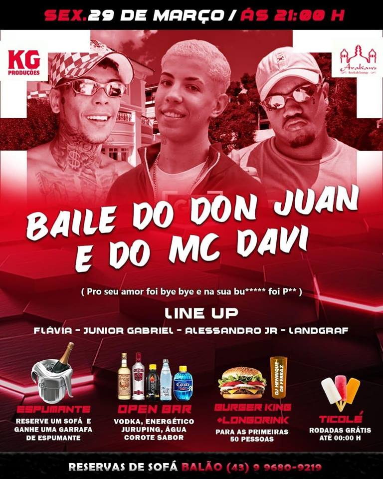 Baile do Don Juan e do MC Davi
