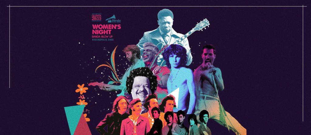Women's Night - Mulher Free - Rodadas FREE