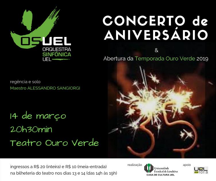Concerto de Aniversário da OSUEL