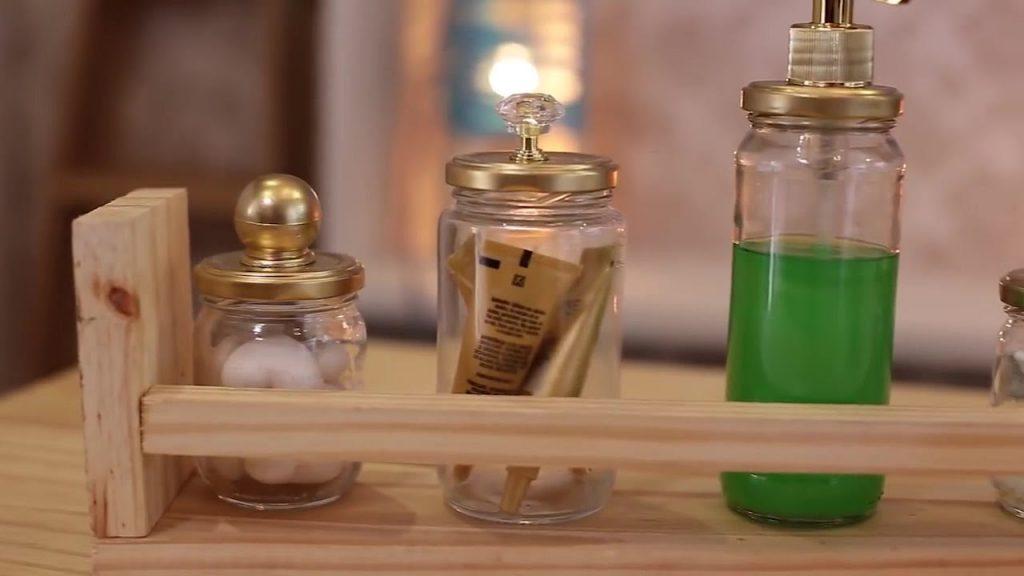 Como reutilizar o pote de geleia na decoração de casa?