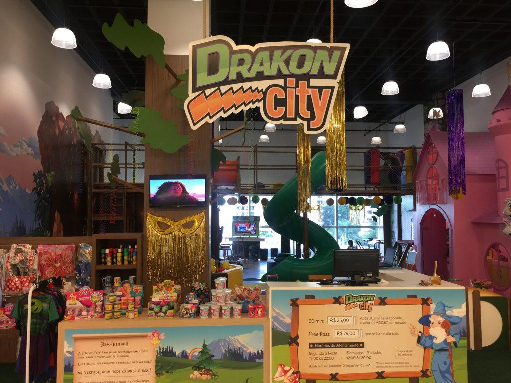 Drakon City preparou programação especial para o Carnaval no Aurora Shopping
