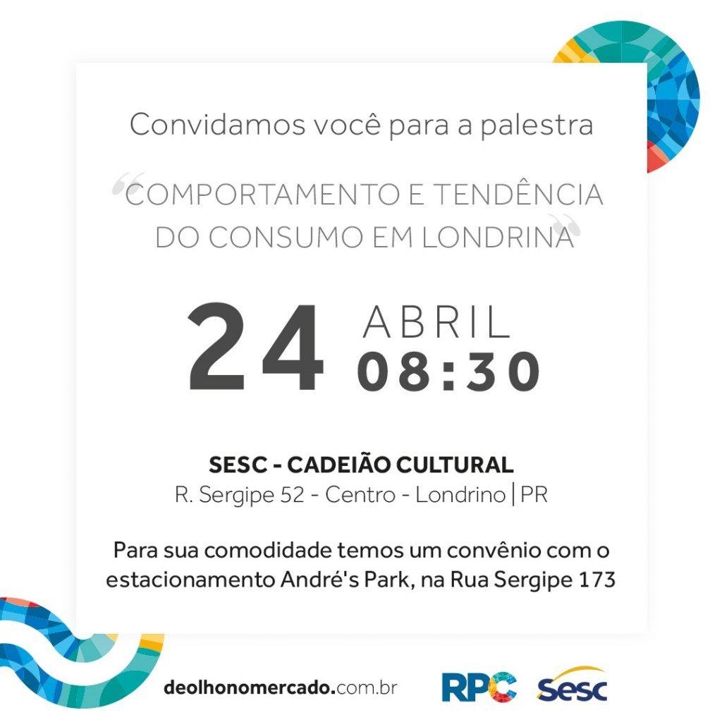 Comportamento e Tendência do Consumo em Londrina