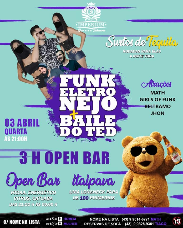 BAILE DO TED