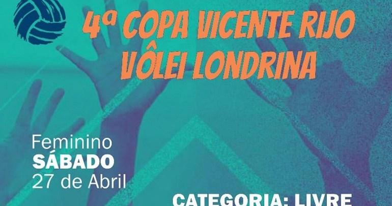 Londrina recebe a 4ª Copa Vicente Rijo de Voleibol