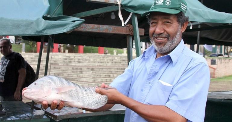Feira do Peixe Vivo comercializa 14 toneladas de peixes