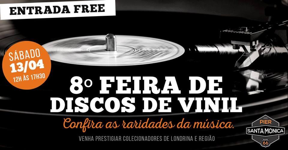 8º Feira de Discos de Vinil