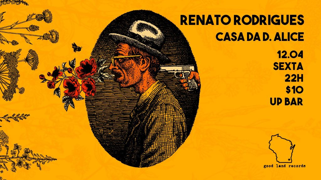 Renato Rodrigues / Casa da Dona Alice / Disco C. Dutra - UP Bar