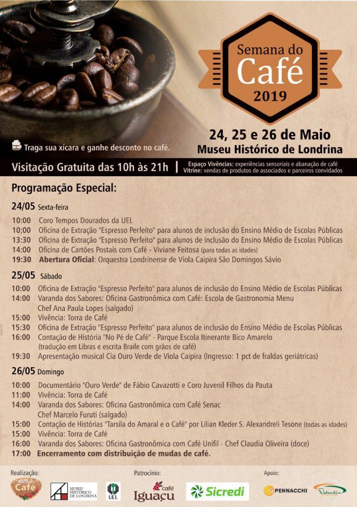 Museu Histórico de Londrina promove a Semana do Café 2019