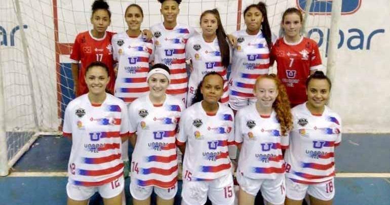 Time feminino de futsal londrinense vence a segunda fase do Campeonato Paranaense