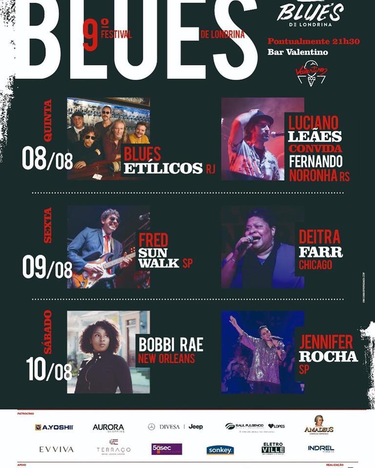 9º Festival Blues de Londrina