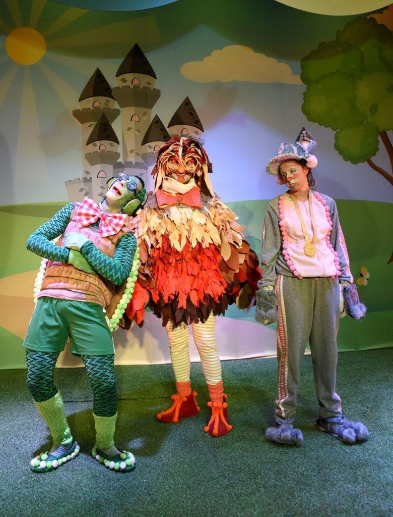 """""""O Show da Final"""" reconta a  fábula da lebre e tartaruga"""