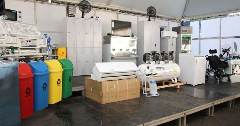 Prefeito entrega novos equipamentos para as unidades de Saúde