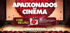 """Cinesystem promove o """"Cine Beijão"""""""