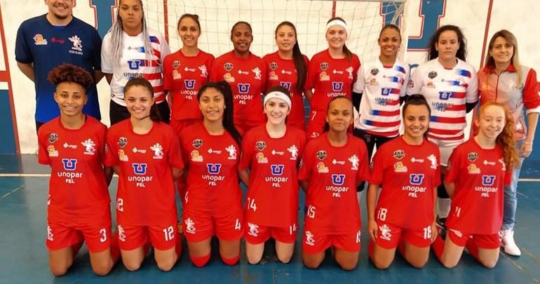Futsal feminino joga em casa pelo Paranaense Série Ouro neste domingo