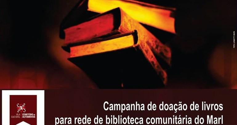 Cemitério de Automóveis promove Campanha de Doação de Livros