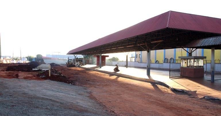 Terminal do Vivi Xavier em fase de reconstrução