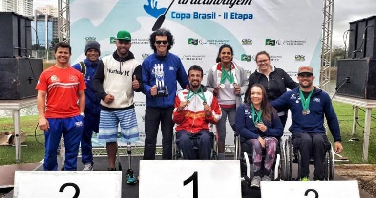 Londrinenses conquistam 20 medalhas em competições de paracanoagem