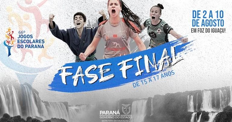 Cerca de 150 atletas de Londrina disputam final A dos Jogos Escolares do Paraná