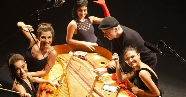 Teatro Ouro Verde é palco de apresentação de piano