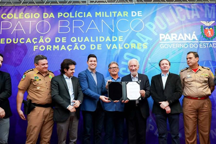 Governo autoriza instalação do Colégio da PM em Pato Branco