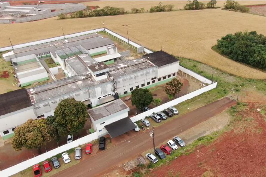 Foz do Iguaçu e Londrina monitoram presos com drones