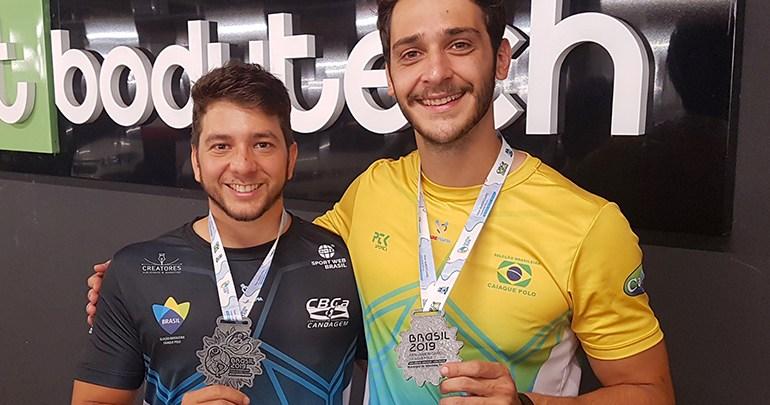 Londrinenses são vice-campeões em Pan-Americano de Caiaque Polo