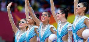 Seleção Brasileira de Ginástica Rítmica se apresenta em Londrina