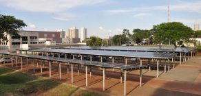 UEL entrega primeira usina de energia solar de Londrina