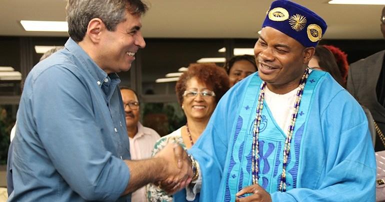 Londrina recebe visita do príncipe da Nigéria