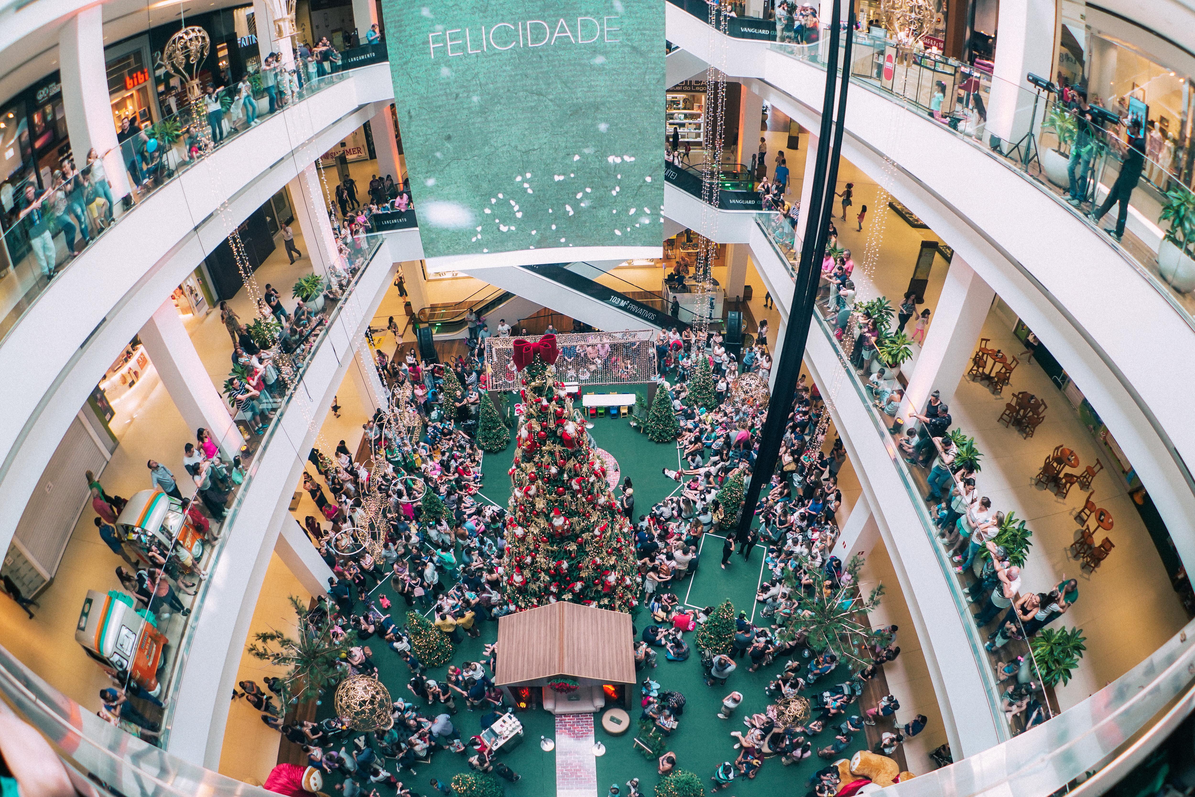 """Natal do Aurora tem """"compre e ganhe"""" e sorteio de R$ 40 mil em vales-compras"""