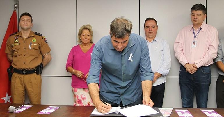 Londrina institui oficialmente Dia do Laço Branco