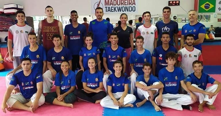Londrina briga por vagas na Seleção Brasileira de Taekwondo