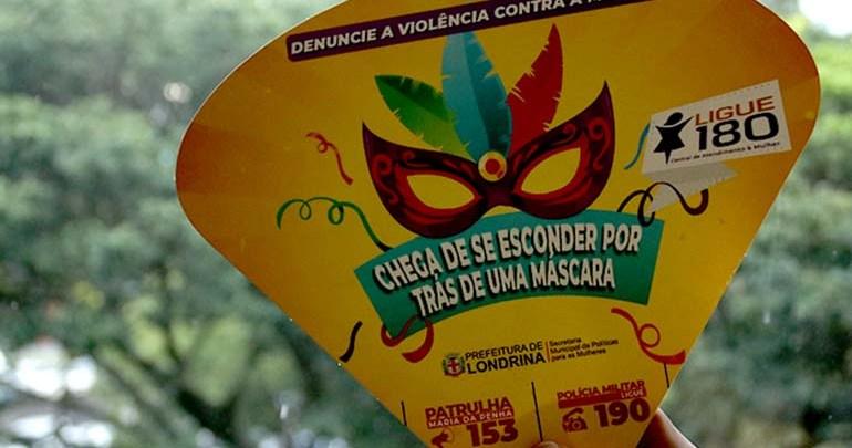 Prevenção à violência contra a mulher é foco de campanha durante o Carnaval