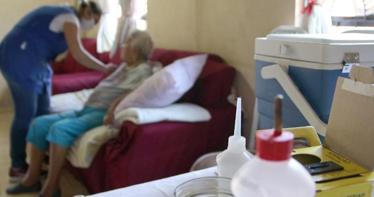 Saúde imuniza 3.190 idosos em três dias de vacinação contra a gripe