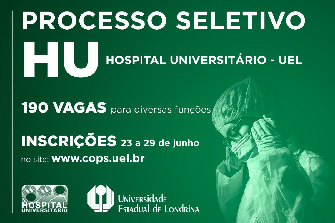 Abertas inscrições do PSS para contratação de 190 profissionais da saúde