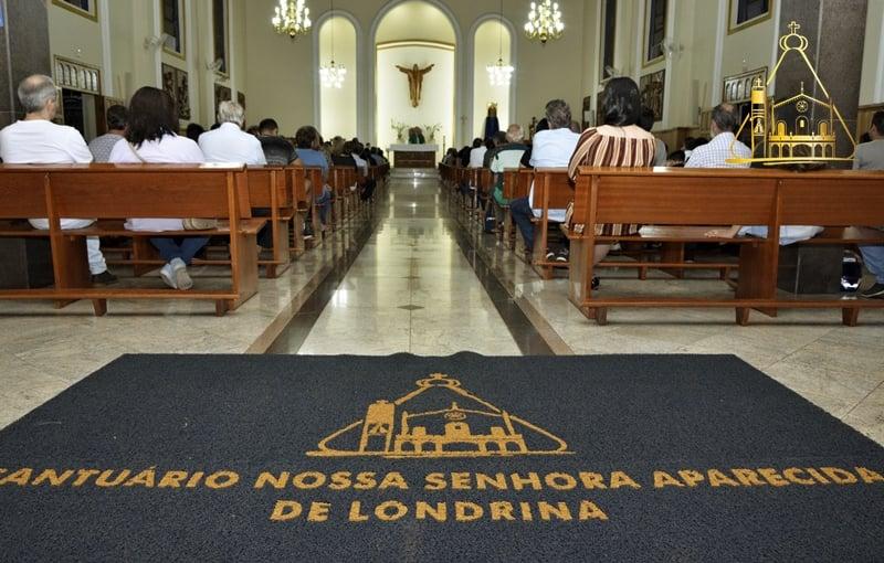 Santuário Nossa Senhora Aparecida retoma missas presenciais com restrições