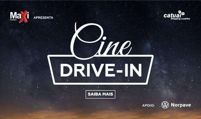 Cine Drive-In chega ao Catuaí Shopping Londrina no dia 27/08