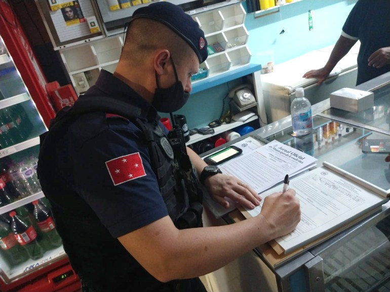 Guarda Municipal atende quase 450 denúncias no final de semana